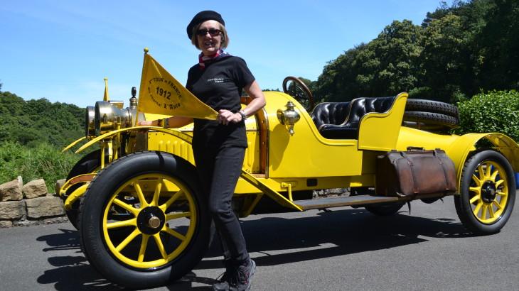 Enjoy France Tours Tour de France 1912 I love this car!