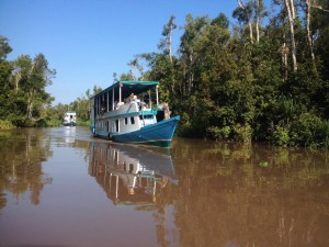 Enjoy Indonesia Tours Borneo Klotok Boat