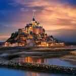 Normandy Le Mont Saint Michel Brittany