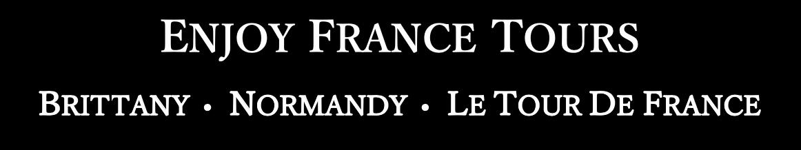 Enjoy France Tours BW