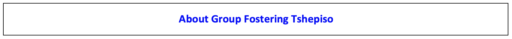 Enjoy Africa Tours About Group Fostering
