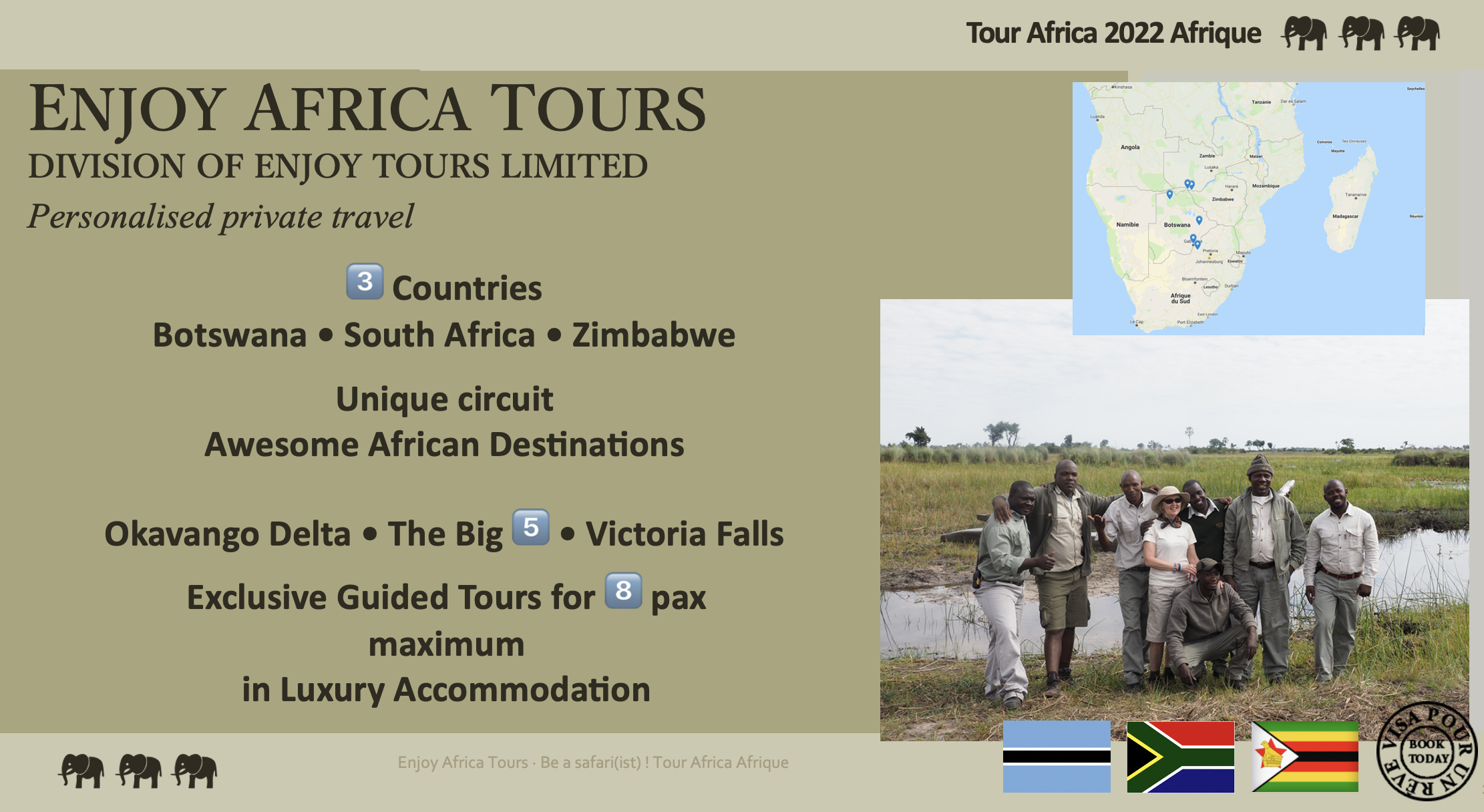 Enjoy Africa Tours Africa 2022