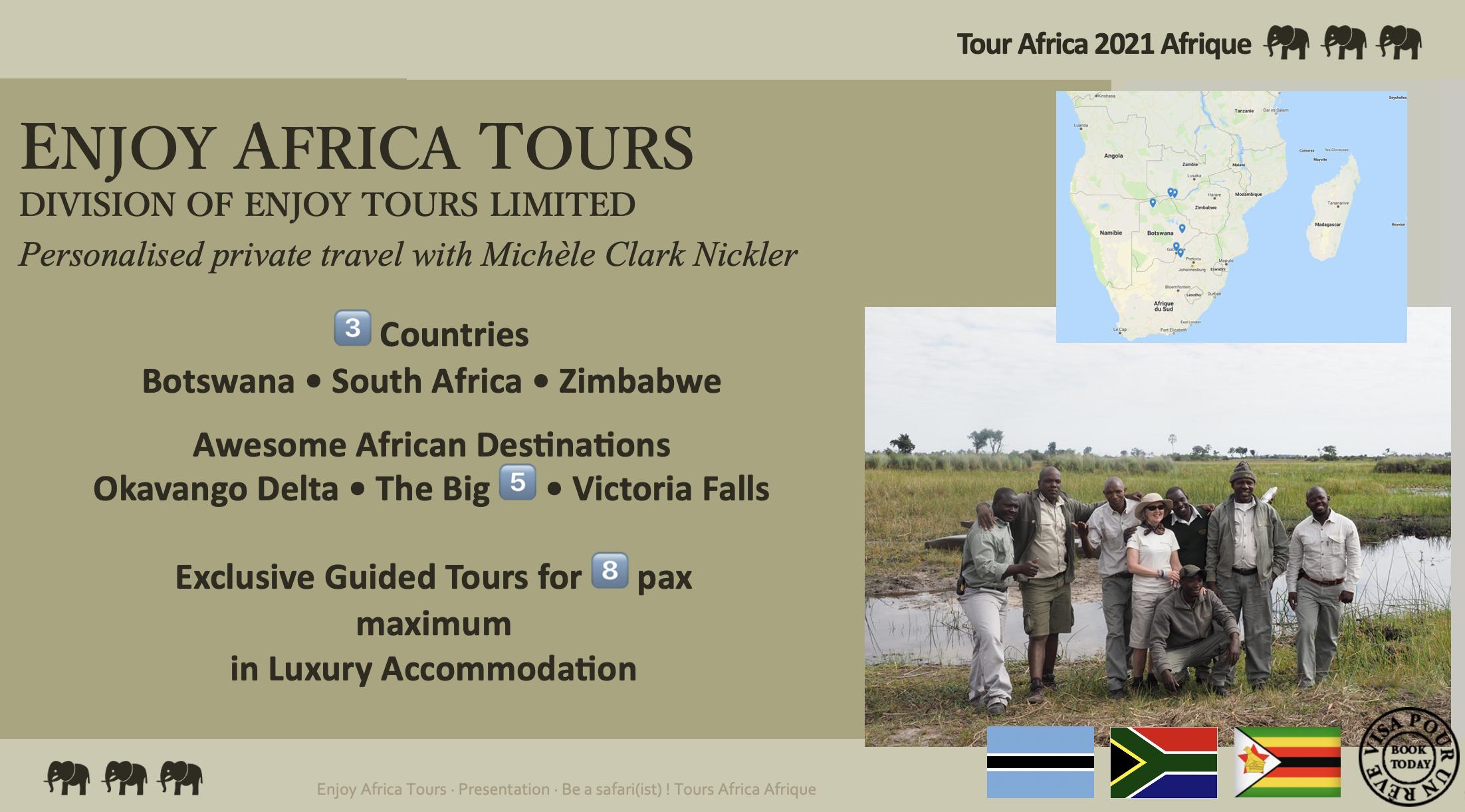Enjoy Africa Tours 2021 Website Pg 1