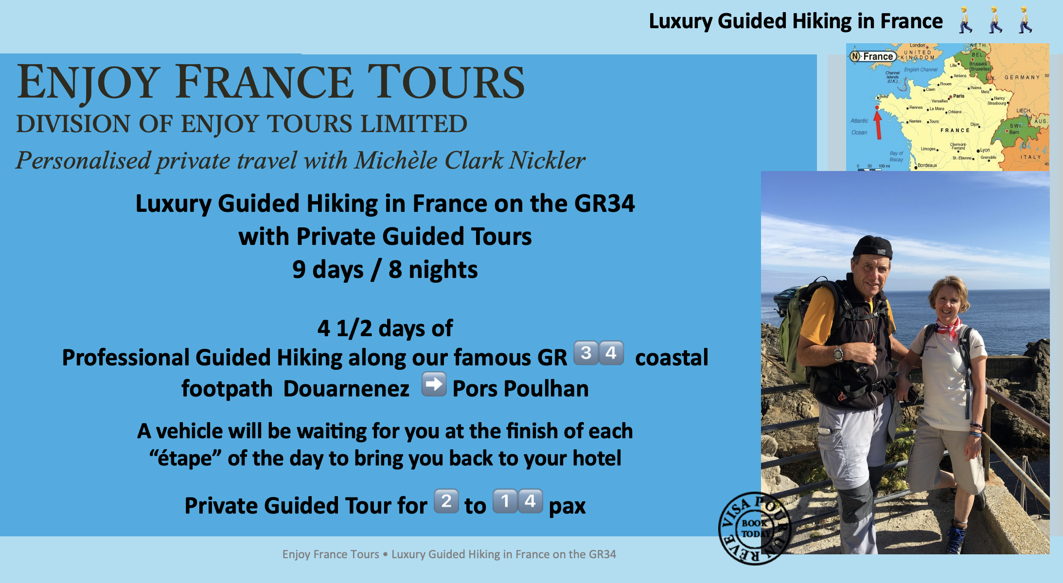 Enjoy France Tours LUXURY HIKING Website Pg 1