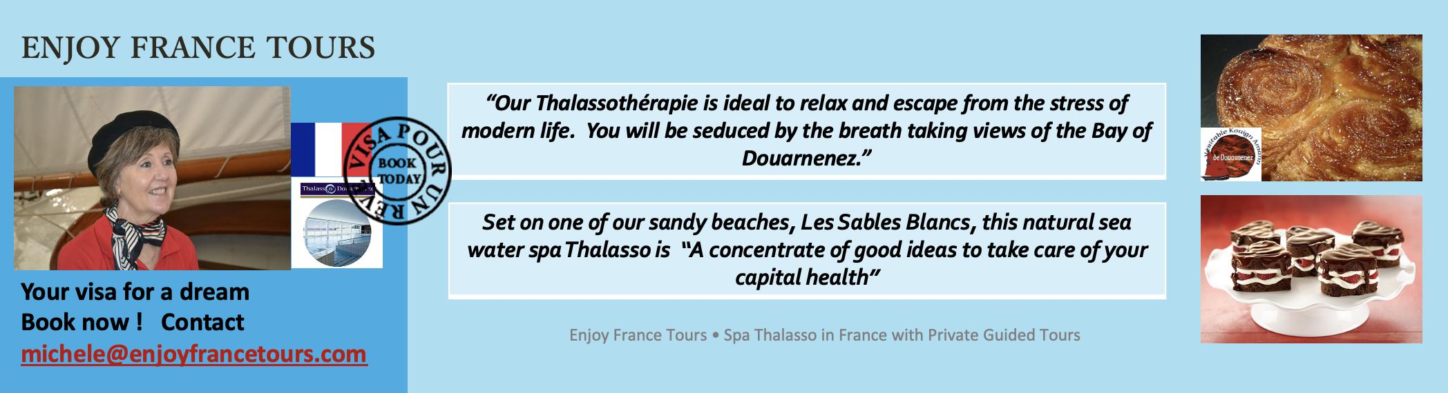 Enjoy France Tours SPA THALASSO Website Pg 4