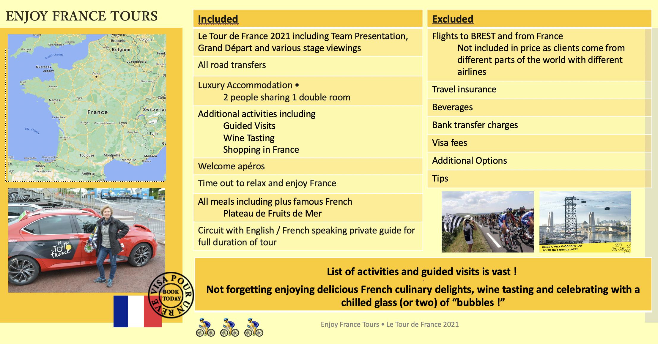 Enjoy France Tours TDF Website 2021 Pg 2