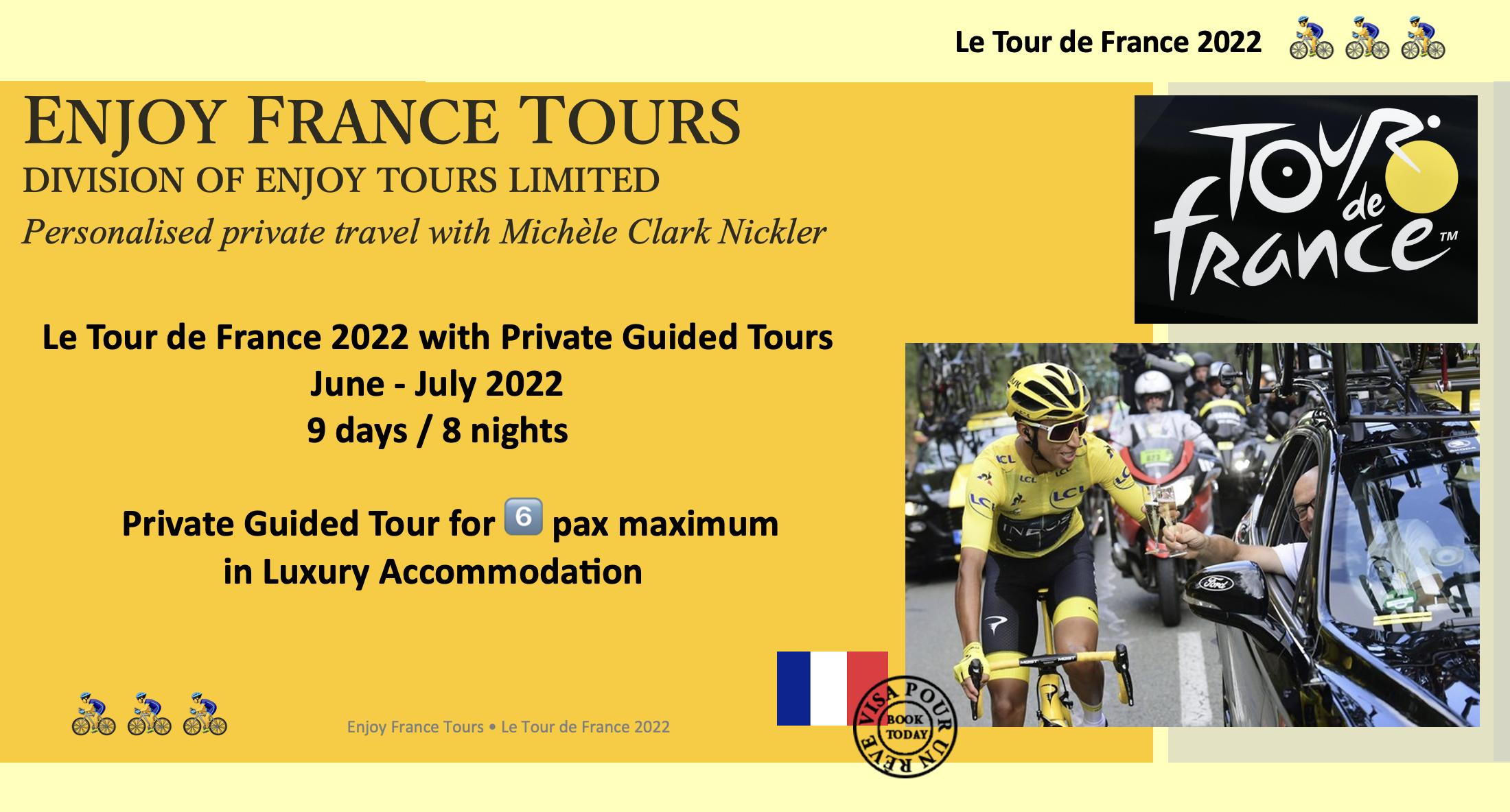 Enjoy France Tours TDF Website 2022 Pg 1